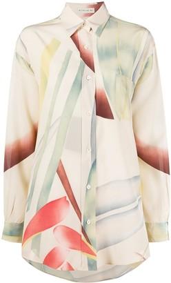 Etro Oversized Silk Shirt