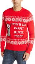 Alex Stevens Men's Wet Carpet Todd Ugly Christmas Sweater