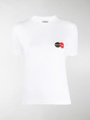 Balenciaga Uniform print short-sleeve T-shirt