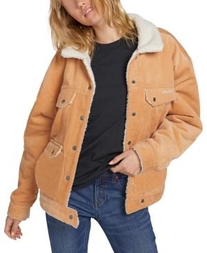 Volcom Corduroy Reversible Jacket