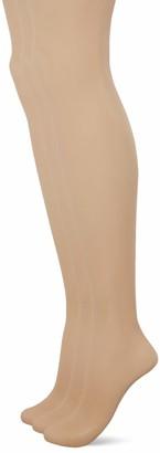 Pretty Polly Women's Naturals 8D Sandal Toe Tights 7 DEN