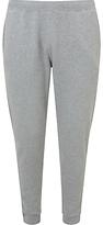 Sunspel Loopback Cotton Lounge Pants, Grey Melange