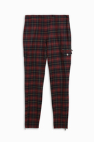 Giamba Tartan Skinny Trousers