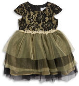 Us Angels Girls 2-6x Lace and Tulle Dress