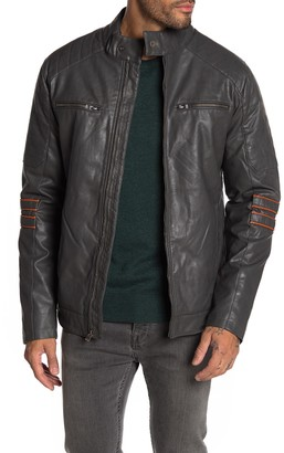 X-Ray Faux Leather Moto Jacket
