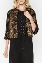 Sugar Lips Shimmer Faux Fur Coat