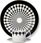 B by BrandieTM London 5-Piece Place Setting in Black/Gold