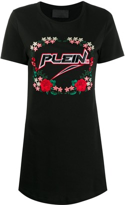 Philipp Plein Space Plein T-shirt dress