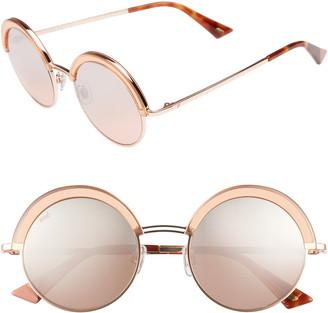 Web 51mm Round Sunglasses