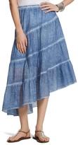 Chico's Chambray Angled Skirt