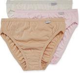 Jockey Elance 3-pk. French-Cut Panties - 1485 Plus