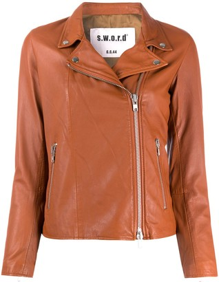 S.W.O.R.D 6.6.44 Fitted Biker Jacket
