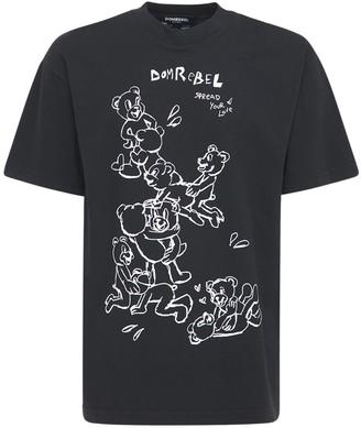 Dom Rebel Tenderness Cotton Jersey T-Shirt