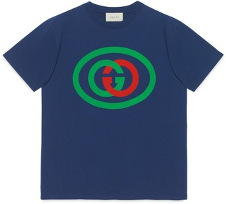 Gucci Oversize T-shirt with Interlocking G