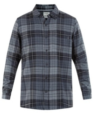 Hurley Men's Portland Classic-Fit Plaid Flannel Shirt