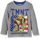Nickelodeon Boy's Ninja Turtles American Heroes T-Shirt