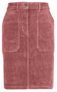 Dorothy Perkins Womens Tall Pink Cord Mini Skirt, Pink
