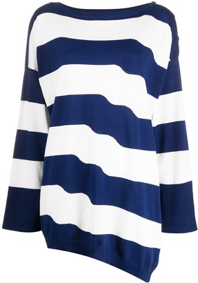 Twin-Set Oversized Striped Jumper