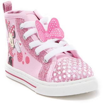 Josmo Minnie Mouse High Top Sneaker (Toddler & Little Kid)