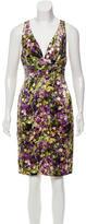 Roberto Cavalli Silk Printed Dress