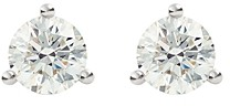 Lightbox Jewelry Solitaire Lab-Grown Diamond Stud Earrings