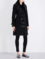 Burberry Toddingwall shearling trench coat