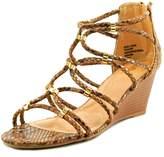 XOXO Sybil Women US 9 Brown Wedge Sandal
