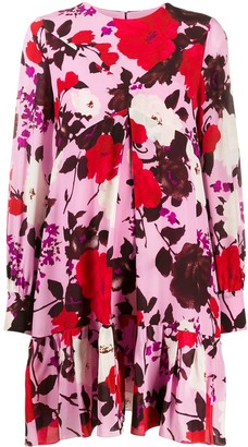 Erdem Floral Print Shift Dress