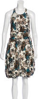 Marni Floral Print Sleeveless Dress