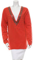 Valentino Wool Embellished Sweater