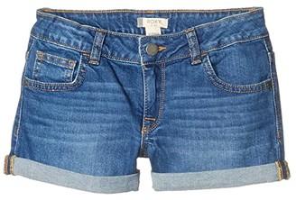 Roxy Kids Lullaby Tonight (Little Kids/Big Kids) (Medium Blue) Girl's Shorts