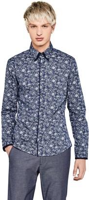 find. Slim Fit Floral Printed Dress Shirt