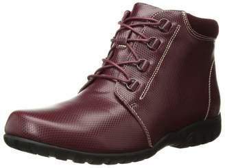 Propet Women's Delaney Ankle Boot Bordo 7 Narrow Narrow US