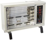 Comfort Zone Radiant Electric Wire Element Box Heater, White, CZ550
