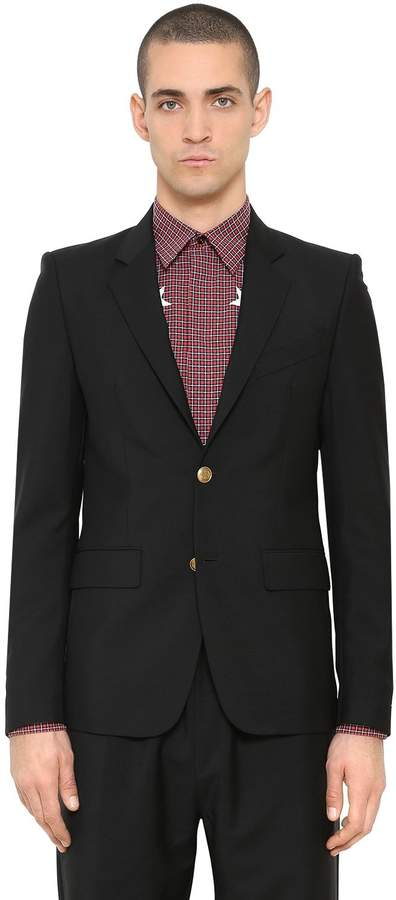 Givenchy Wool & Mohair Blend Jacket