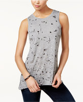 Calvin Klein Jeans Splatter-Print Sleeveless Top