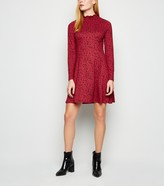 New Look Floral Soft Touch Long Sleeve Dress