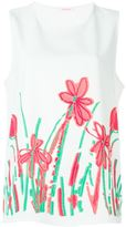 P.A.R.O.S.H. floral tank top - women - Polyester - XL