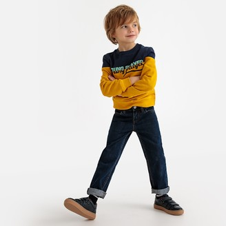 La Redoute Collections Straight Cut Jeans, 3-12 Years