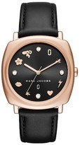 Marc Jacobs Women's Mandy Leather Strap Watch, 34Mm