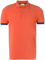 Capricode - contrast polo shirt - men - Cotton/Spandex/Elastane - M