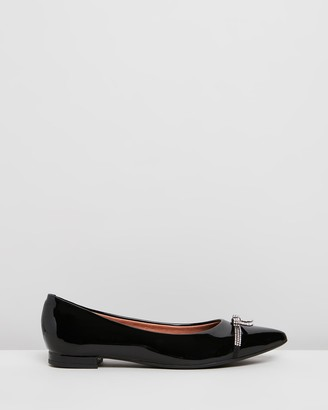 Vizzano - Women's Black Ballet Flats - Ashe - Size One Size, 7 at The Iconic