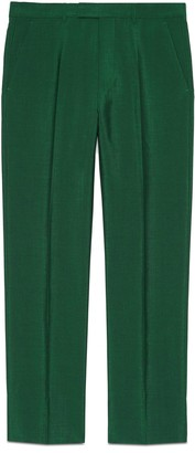 Gucci Wool mohair tailored pant