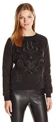 Desigual Women's Sweater Flowers