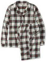 L.L. Bean L.L.Bean Scotch Plaid Flannel Pajamas, Plaid