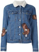 Each X Other eagle appliqué denim jacket