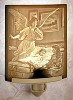The Porcelain Garden Sleep Tight Porcelain Lithophane Night Light