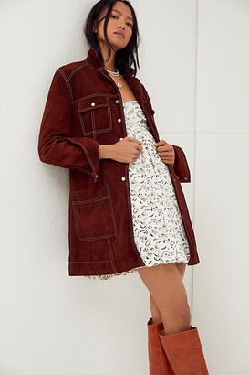 We The Free Lainie Suede Jacket