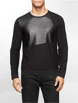 Calvin Klein One Slim Fit Block Print Sweatshirt