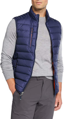Peter Millar Men's Crown Elite Puffer Vest